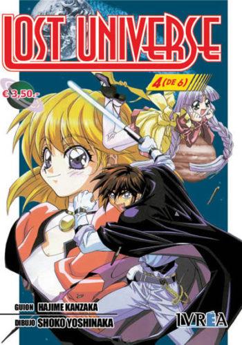 Lost Universe Manga Tomo 4