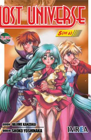 Lost Universe Manga Tomo 5