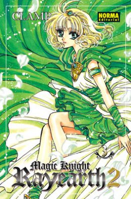 Magic Knight Rayearth 2 manga volumen 3