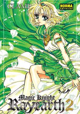 Magic Knight Rayearth 2 manga volumen 3