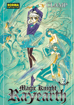 Magic Knight Rayearth manga tomo 2