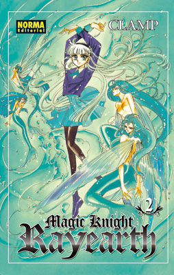 Magic Knight Rayearth manga tomo 2
