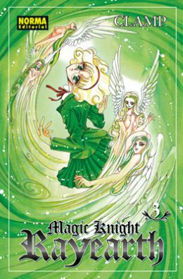 Magic Knight Rayearth manga tomo 3