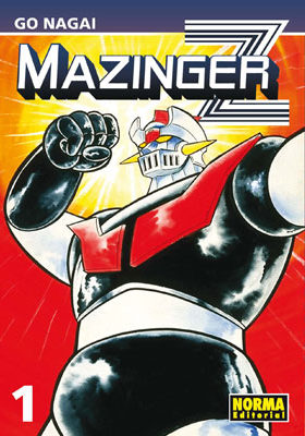 Mazinger Z manga Tomo 1