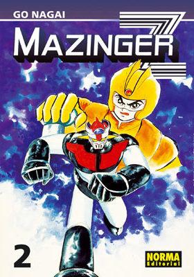 Mazinger Z manga Tomo 2