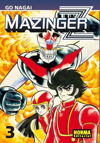 Mazinger Z manga Tomo 3