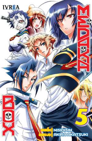 Medaka Box Manga Tomo 5