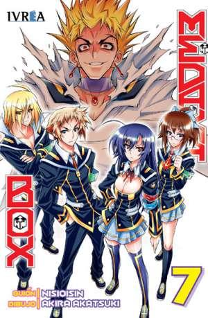 Medaka Box Manga Tomo 7