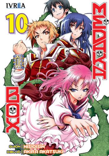 Manga Medaka Box Tomo 10