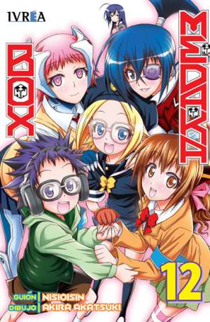 Medaka Box Manga Tomo 12