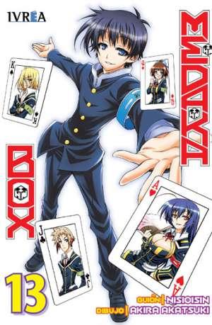 Medaka Box Manga Tomo 13