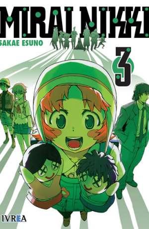 Mirai Nikki Manga Tomo 3