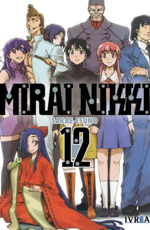 Mirai Nikki Manga Tomo 12