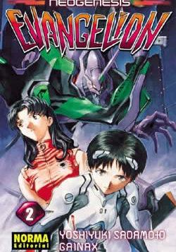 Neogenesis Evangelion manga Tomo 2