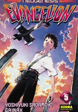 Neogenesis Evangelion manga Tomo 5
