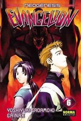 Neogenesis Evangelion manga Tomo 6