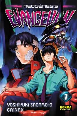 Neogenesis Evangelion manga Tomo 7
