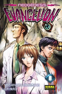 Neogenesis Evangelion manga Tomo 8