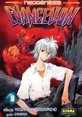 Neogenesis Evangelion manga Tomo 9