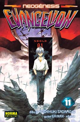 Neogenesis Evangelion manga Tomo 11