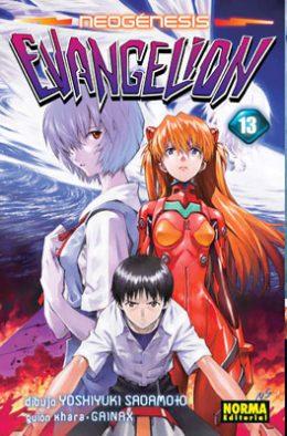 Neogenesis Evangelion manga Tomo 13