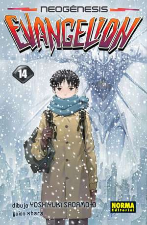 Neogenesis Evangelion manga Tomo 14