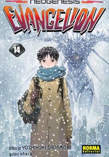 Manga Neogenesis Evangelion Tomo 14