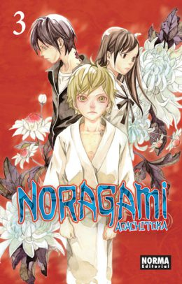 Noragami manga Tomo 3