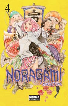 Noragami manga Tomo 4