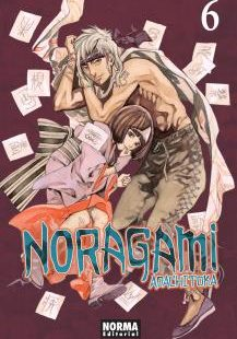 Noragami manga Tomo 6