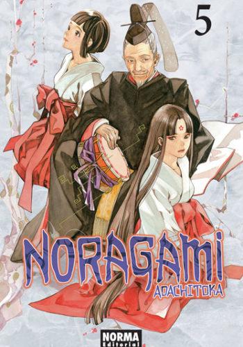 Manga Noragami tomo 05
