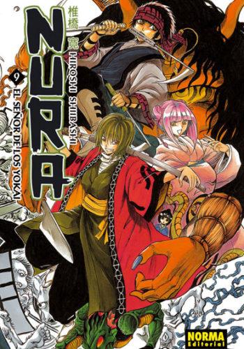 Manga Nura El Señor de los Yokai 09