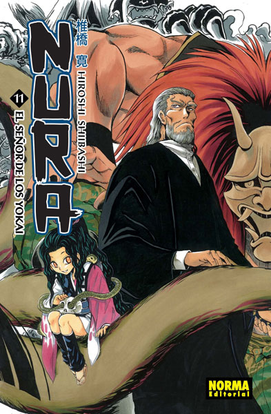Manga Nura El Señor de los Yokai 11