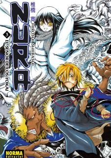 Nura El Señor De Los Yokai manga Tomo 3
