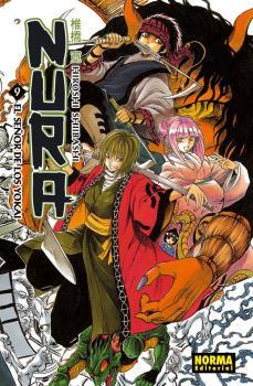 Nura El Señor De Los Yokai manga Tomo 9