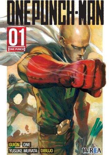 One Punch-Man manga tomo 1