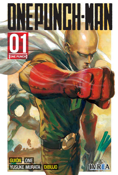 One Punch-Man manga tomo 1