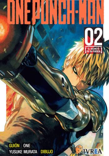 One Punch-Man manga tomo 2