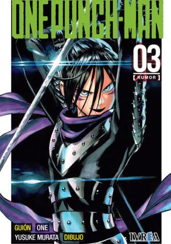 One Punch-Man manga tomo 3