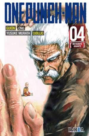 One Punch-Man manga tomo 4