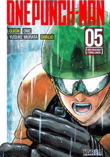 One Punch-Man manga tomo 5