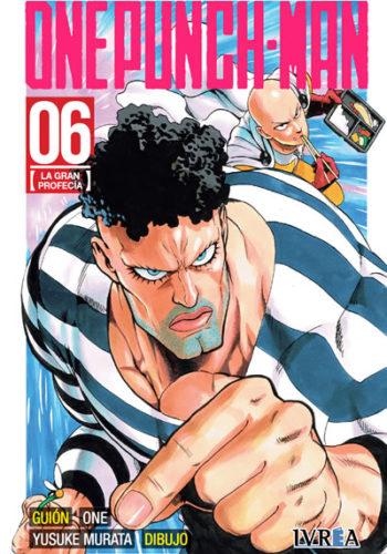 One Punch-Man manga tomo 6