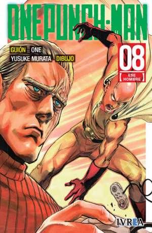 One Punch-Man manga tomo 8