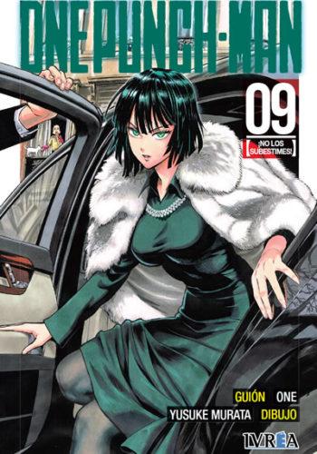 One Punch-Man manga tomo 9