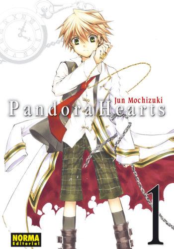 Pandora Hearts manga Tomo 1