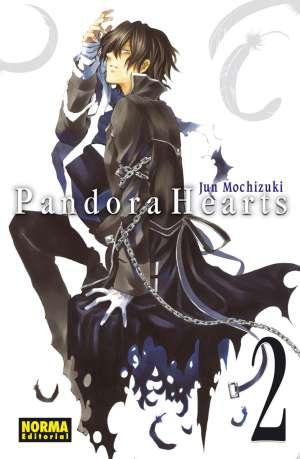 Pandora Hearts manga Tomo 2