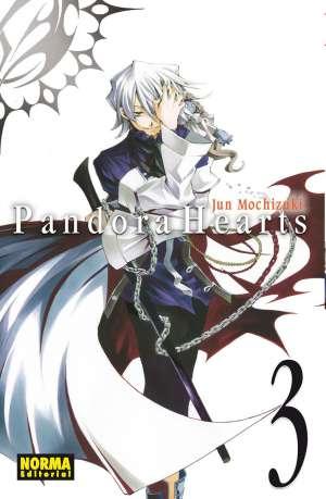 Pandora Hearts manga Tomo 3