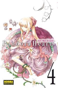 Pandora Hearts manga Tomo 4
