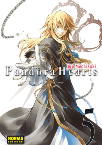 Pandora Hearts manga Tomo 5