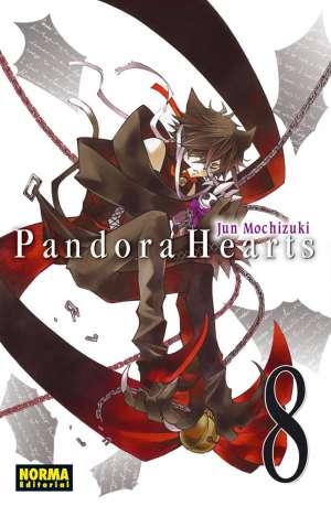 Pandora Hearts manga Tomo 8